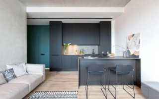 Современные кухни в стиле минимализм