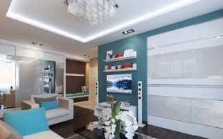 Дизайн комнаты 25 метров