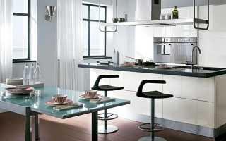 Дизайн штор для белой кухни