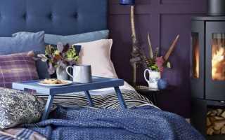 Сиреневая мебель в интерьере