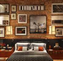 Бетонные стены в стиле лофт