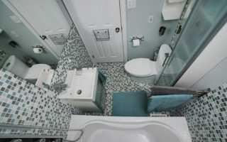 Интерьер маленькой ванны в хрущевке