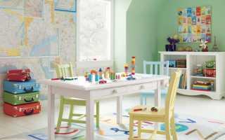 Интерьер детской для малыша