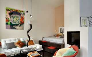 Красивый интерьер маленькой комнаты