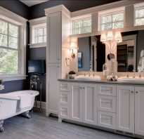 Дизайн ванной без окна