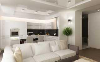 Кухня гостиная дизайн своими руками