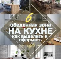 Дизайн кухни с обеденным столом