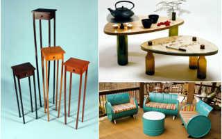 Идеи мебели из дерева