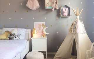 Декор стен в детской своими руками