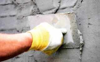 Выравнивание стен цементом