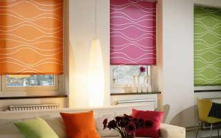 Римские шторы дизайн