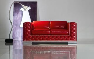 Глянцевая мебель в интерьере