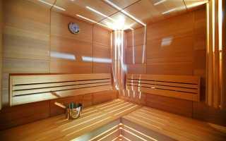 Интерьер кухни в бане