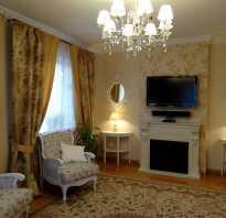 Декор штор в гостиную фото