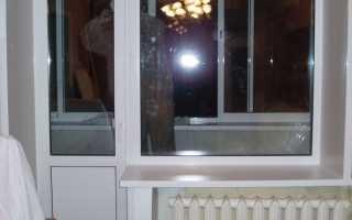 Установка балконных дверей своими руками