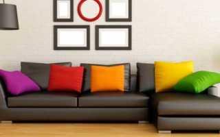 Расцветки диванов в интерьерах