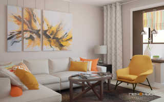 Дизайн однокомнатной квартиры в панельном доме