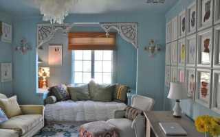 Интерьер прованс в деревянном доме