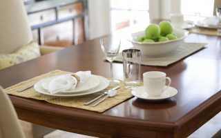Кухонные столы и стулья в интерьере