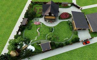 Дизайн садовых участков своими руками фото