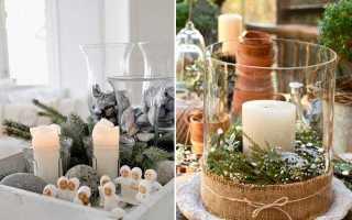 Рождественский декор в скандинавском стиле