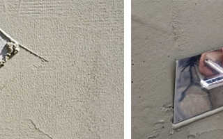 Штукатурка на цементной основе для внутренних