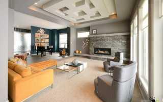 Большая комната в доме дизайн
