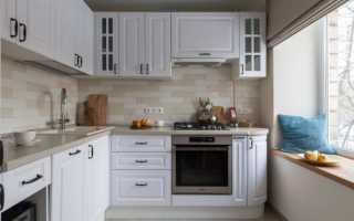 Оформление стен маленькой кухни
