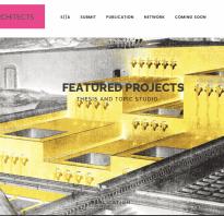 Сайт журнала архитектура и дизайн