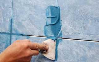 Как правильно заделывать швы кафельной плитки