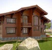 Интерьер деревянного дома окна