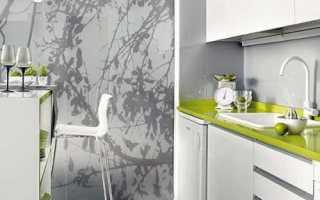 Кухни цвета мокрого асфальта