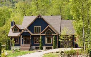 Покрашенные фасады домов фото