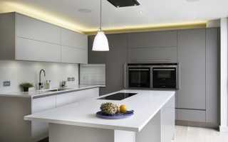 Маленькая кухня в стиле минимализм