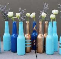 Декор маленьких бутылочек