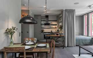 Современный дизайн однокомнатной квартиры 30 кв м
