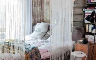 Ниточные шторы в интерьере