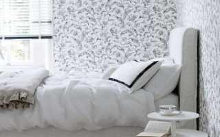 Дизайн небольшой комнаты обоями