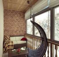 Идея балкона интерьер