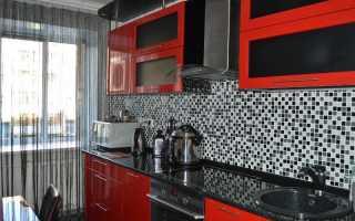 Дизайн в черно красных тонах