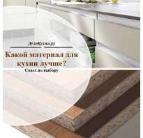 Практичные кухни материал