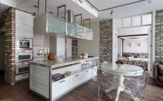 Дизайн квартир с камнем