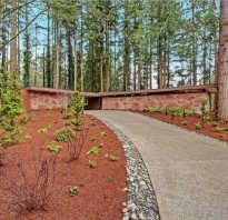Дом в лесу интерьер