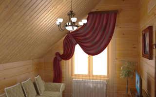 Материалы для отделки стен деревянного дома