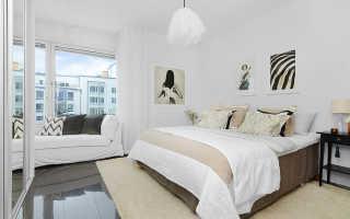 Спальня в нежных тонах дизайн фото