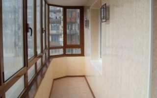 Внутренняя отделка балкона варианты