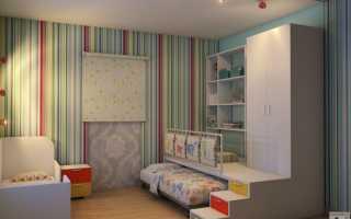 Детские спальни интерьер фото