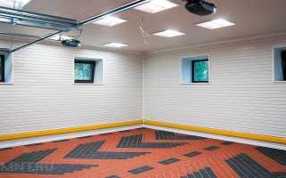Чем отделать гараж изнутри