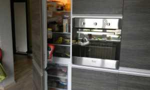 Размеры фасадов для встраиваемого холодильника