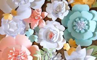 Стена с цветами в интерьере